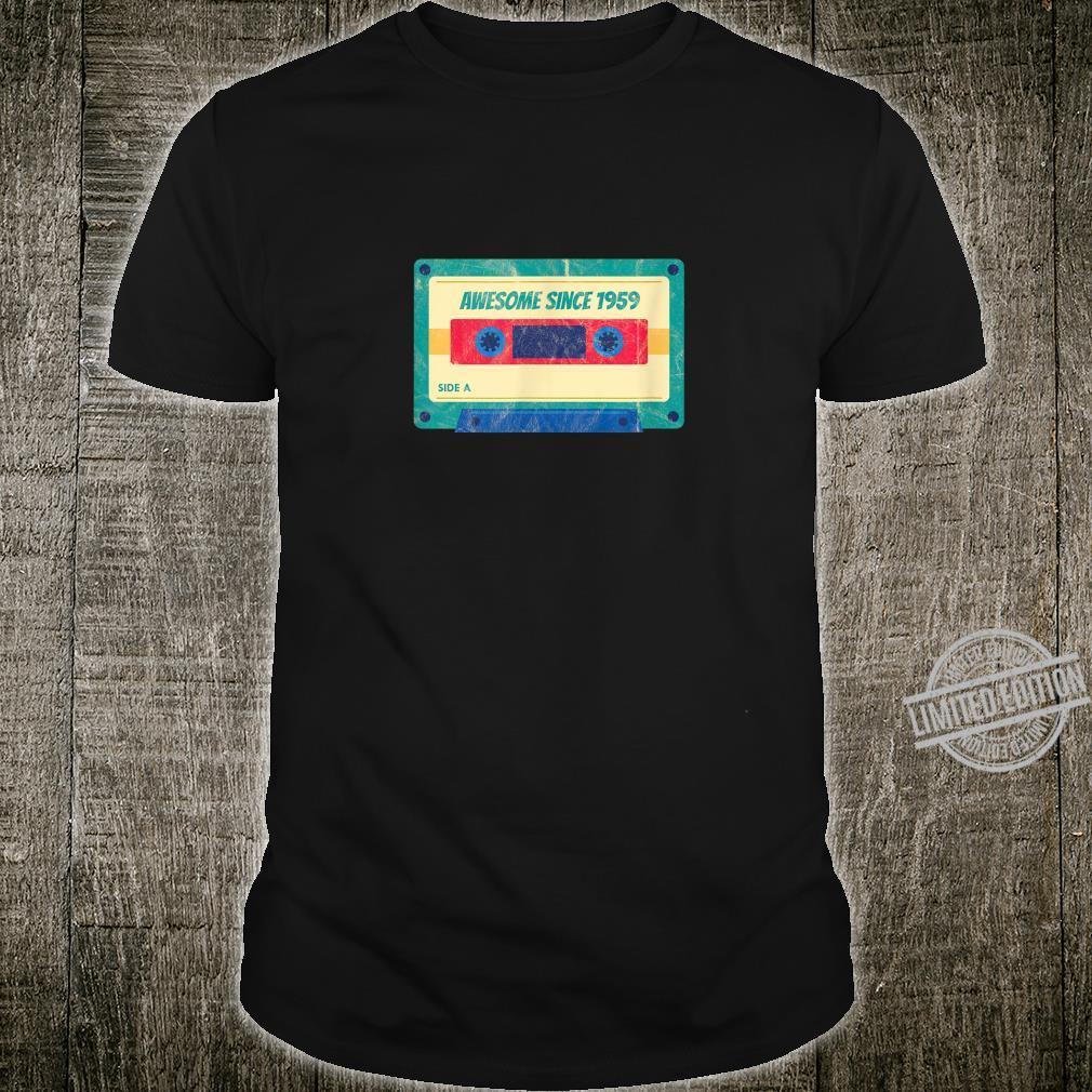 Retro Einundsechzig Awesome Since 1959 61 Jahre Geburtstag Shirt