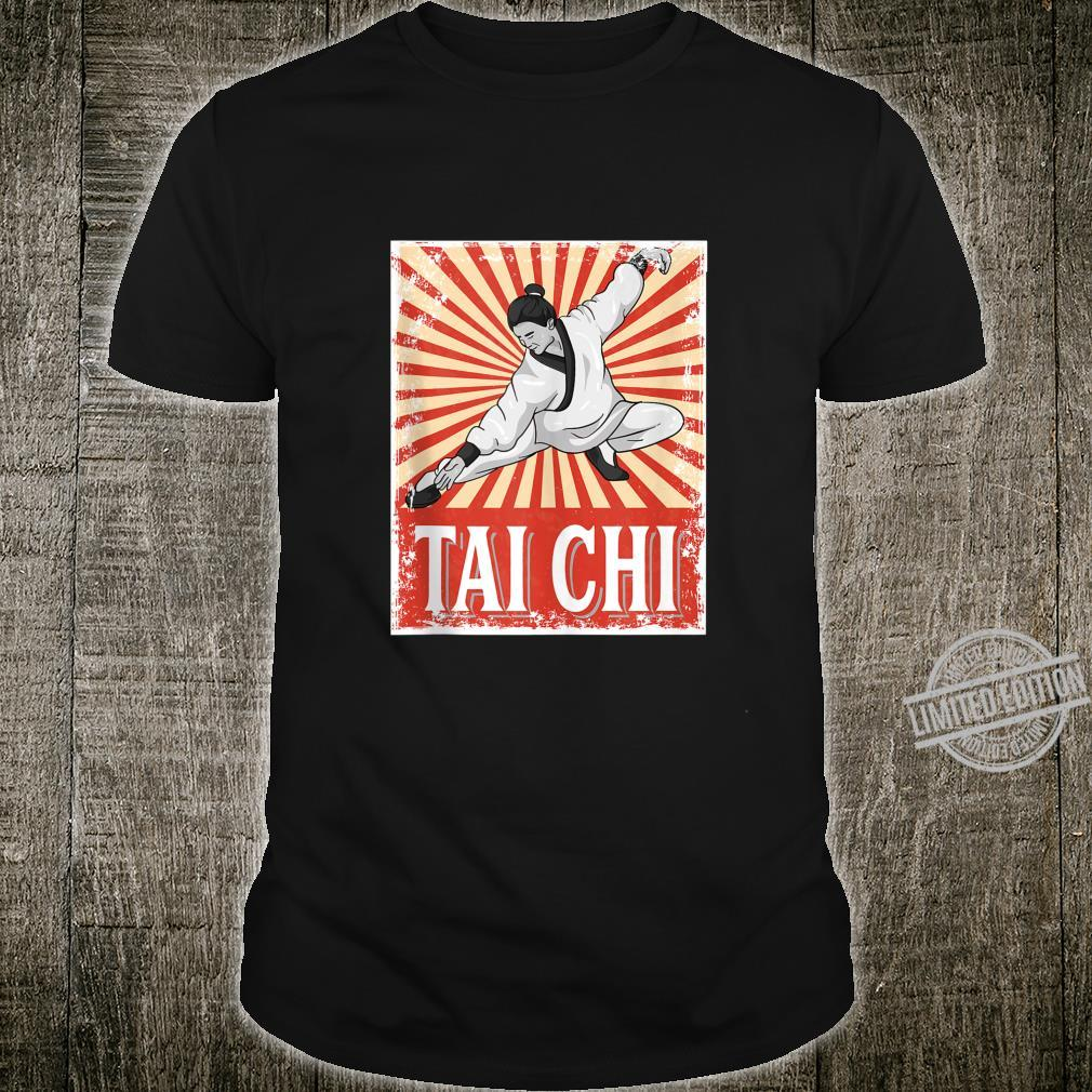 Tai Chi Retro Vintage Style Martial Arts Shirt