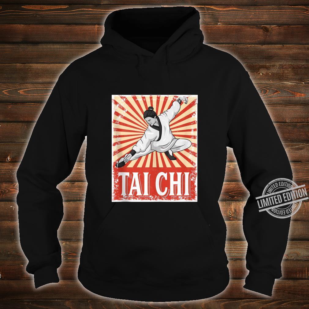 Tai Chi Retro Vintage Style Martial Arts Shirt hoodie