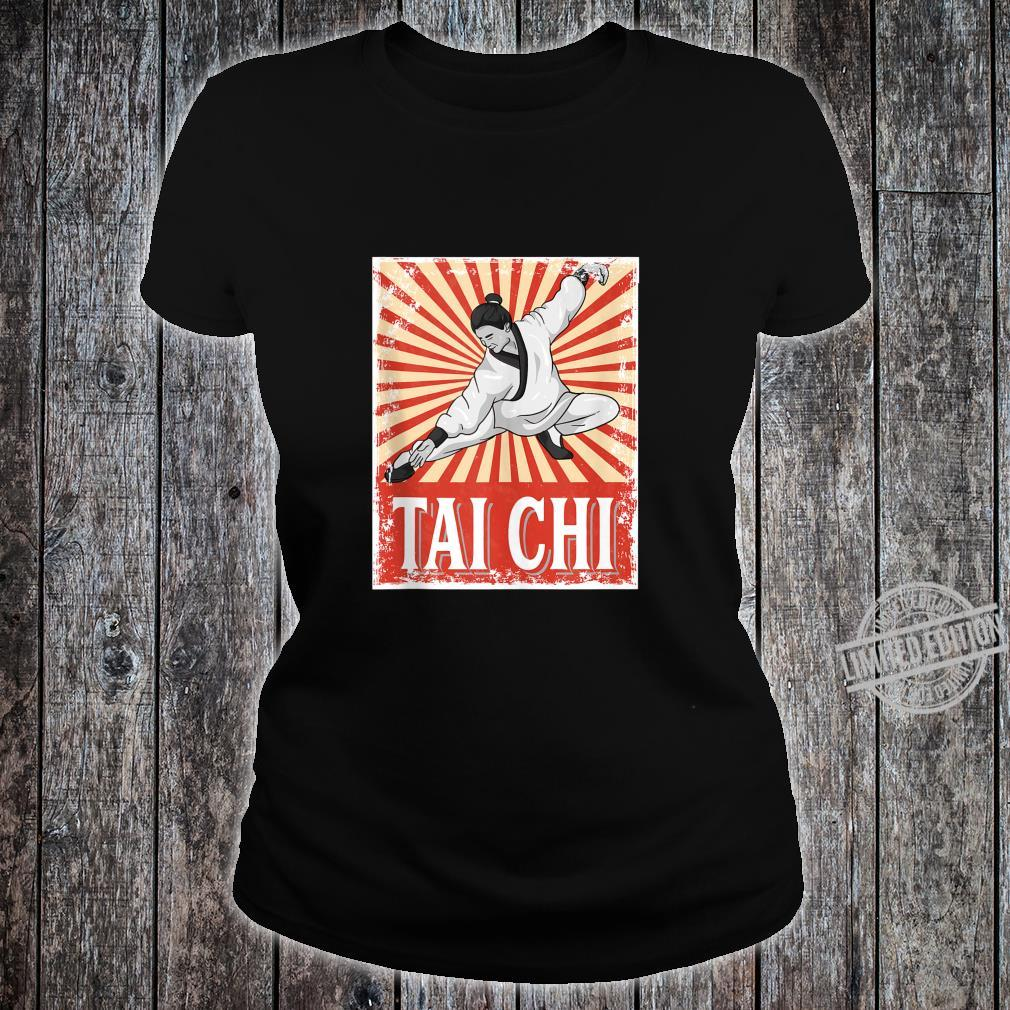 Tai Chi Retro Vintage Style Martial Arts Shirt ladies tee