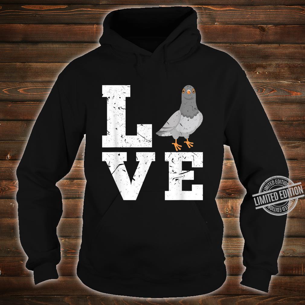 Taubenzucht Taubenzüchter Taubenhaus Züchter Tauben Geschenk Shirt hoodie