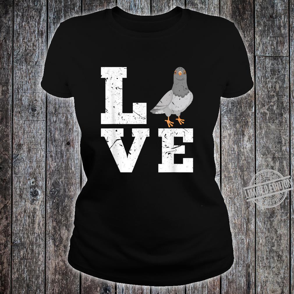 Taubenzucht Taubenzüchter Taubenhaus Züchter Tauben Geschenk Shirt ladies tee