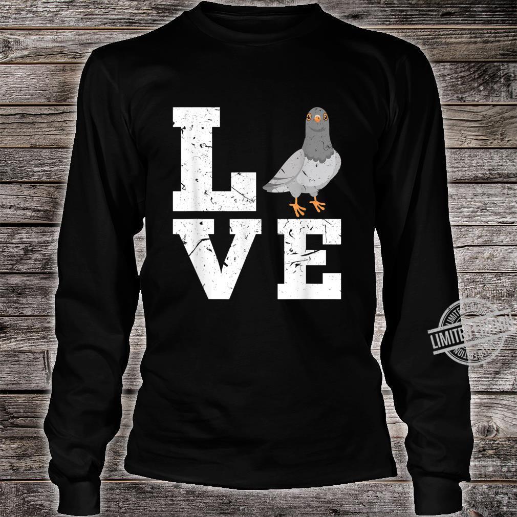 Taubenzucht Taubenzüchter Taubenhaus Züchter Tauben Geschenk Shirt long sleeved