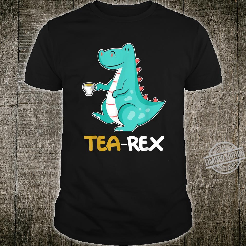 Tea RexRex Dino und Dinosaurier TRex Shirt
