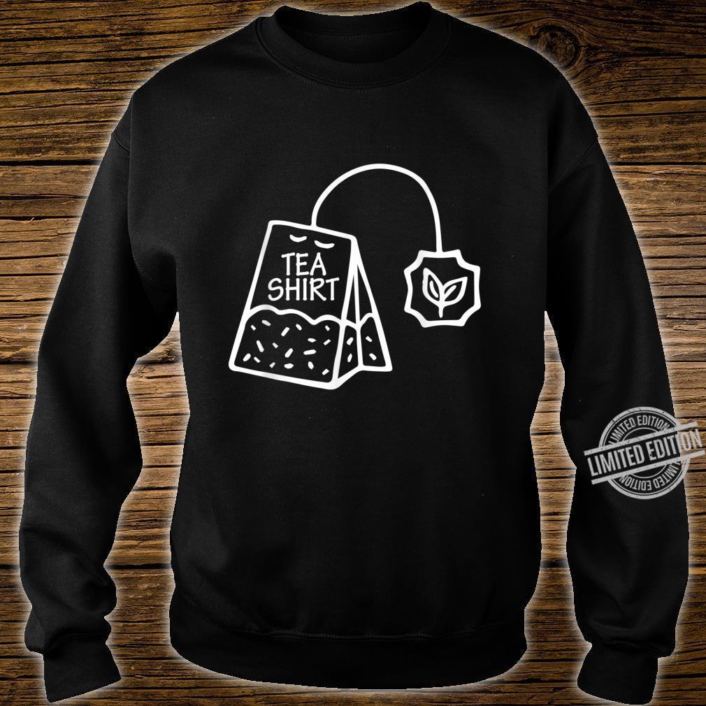 Tee Shirt Liebhaber Teesucht Teesüchtig ist Leben Tea Shirt sweater
