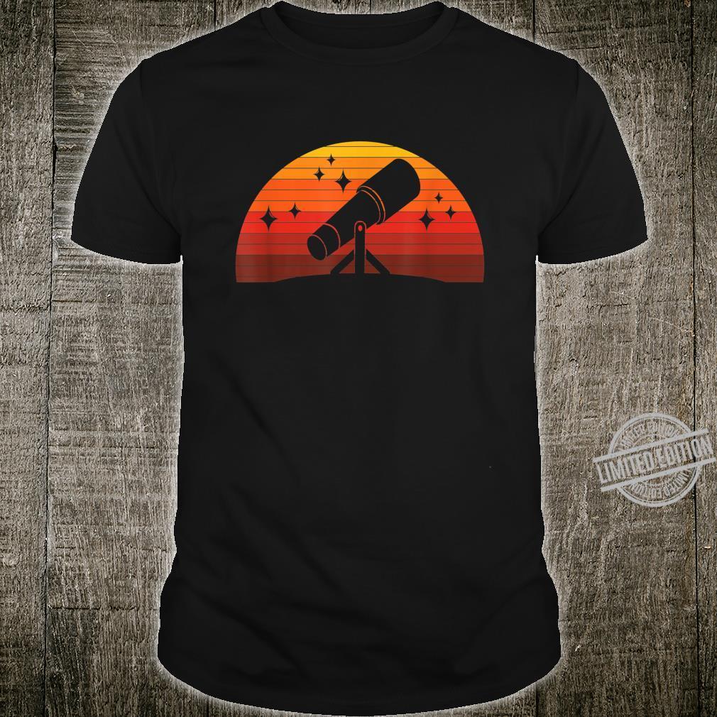 Telescope Astronomer Astrophysics Idea Astronomy Shirt