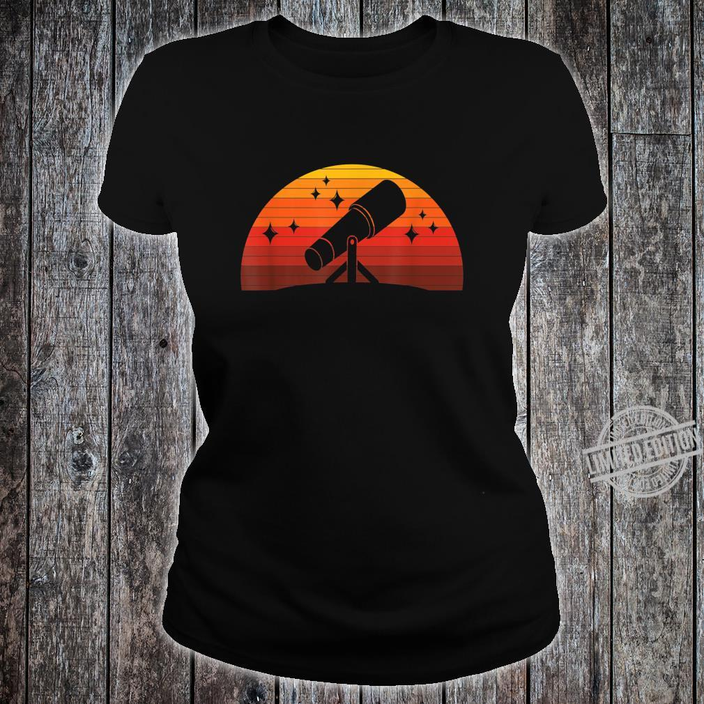 Telescope Astronomer Astrophysics Idea Astronomy Shirt ladies tee