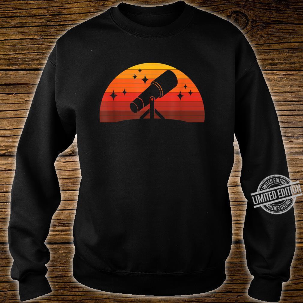 Telescope Astronomer Astrophysics Idea Astronomy Shirt sweater