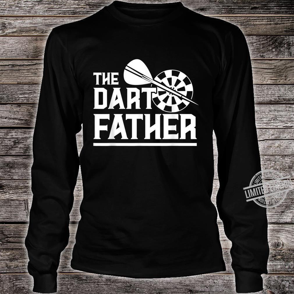 The Dartfather Darts Darter Dartspierl Dartboard Dart Spiel Shirt long sleeved