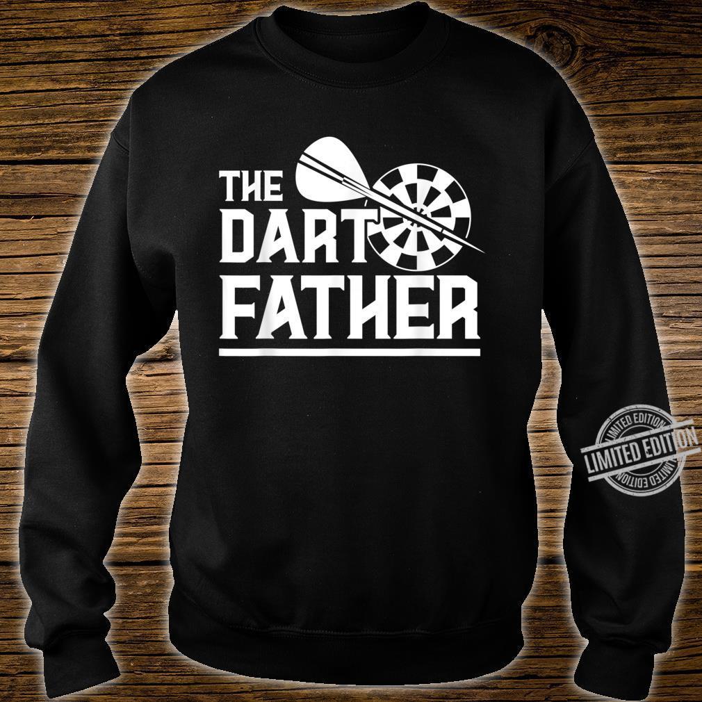 The Dartfather Darts Darter Dartspierl Dartboard Dart Spiel Shirt sweater