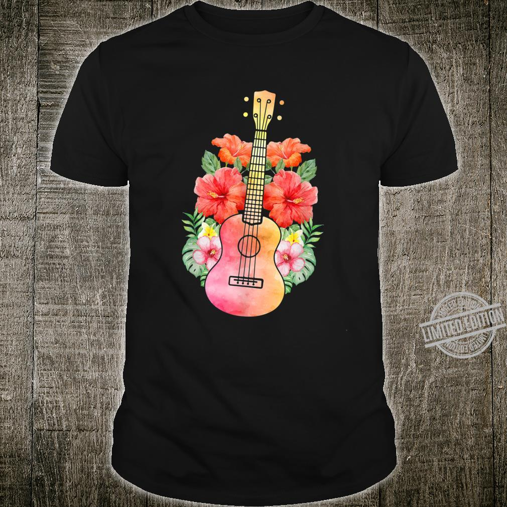 Uke Guitar I Guitarist Hawaii Ukulele Shirt