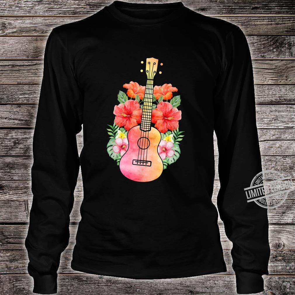 Uke Guitar I Guitarist Hawaii Ukulele Shirt long sleeved